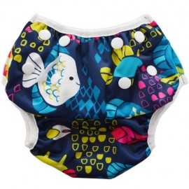 Swim Nappy Tropical Fish - Baby Babas