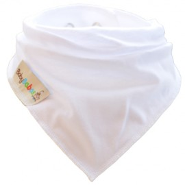 White Summer Dribble Bib