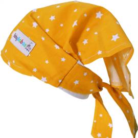 Pañuelo Pirata Estrellas Amarillo - Baby Babas