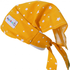Yellow Stars Headscarf - Baby Babas