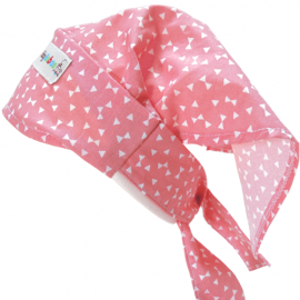Pink Print Headscarf - Baby Babas