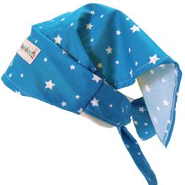 Pañuelo Pirata Estrellas Azul - Baby Babas