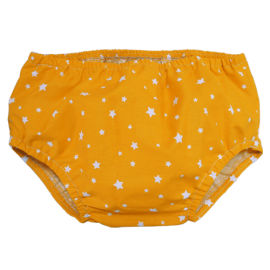 Yellow Stars Nappy Cover - Baby Babas
