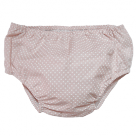 Beige Dots Nappy Cover - Baby Babas