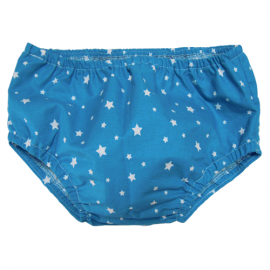 Blue Stars Nappy Cover - Baby Babas