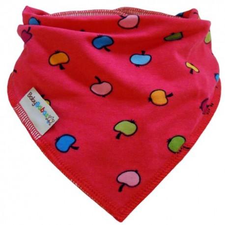 Apple Pink - Bandana Dribble Bib - Baby Babas