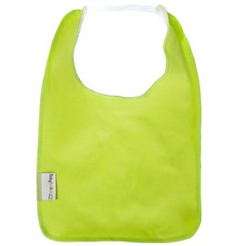 Lime Green Square Bib with Elastic
