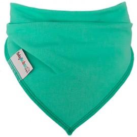 Turquoise - Bandana Dribble Bib - Baby Babas