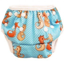 Swim Nappy Sea Horses