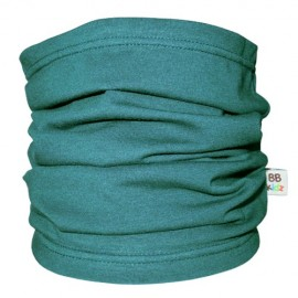 Bottle Green Tube Scarf - Baby