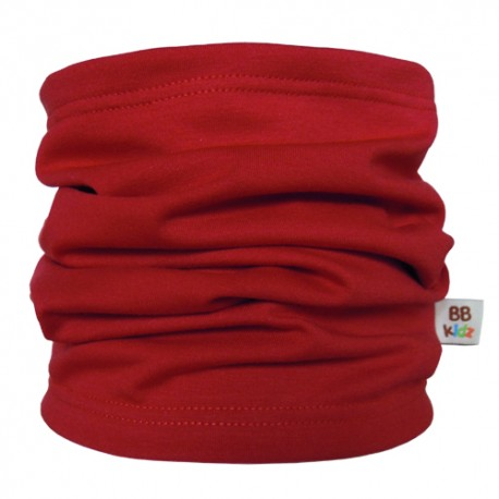 Burgundy Tube Scarf for babies - Baby Babas