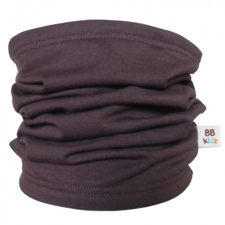 Brown Tube Scarf for babies - Baby Babas