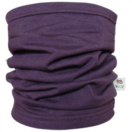 Aubergine Tube Scarf  Kids - Baby Babas