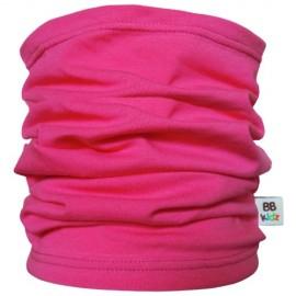 Raspberry Pink Tube Scarf - Kids