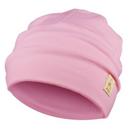 Light Pink Hat - Newborn 0-6 months - Baby Babas