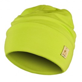 Lime Green Hat - Newborn