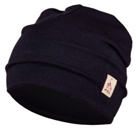 Navy Blue Hat - Newborn 0-6 months - Baby Babas