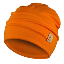 Orange Hat - Newborn 0-6 months - Baby Babas