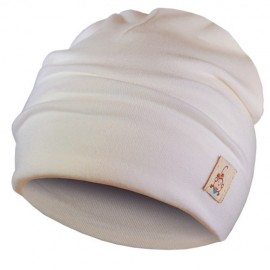 Cream Hat - Newborn 0-6 months - Baby Babas