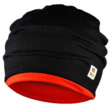 Black & Red Hat - Kids 2-8 years - Baby Babas