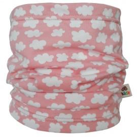 Bufanda Tubo Rosa Nubes - Bebé 0-5 años