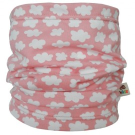 Pink Clouds Tube Scarf - Baby