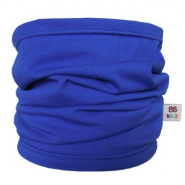 Royal Blue Tube Scarf for babies - Baby Babas