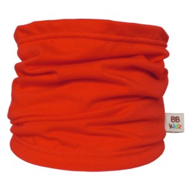 Red Tube Scarf for babies - Baby Babas