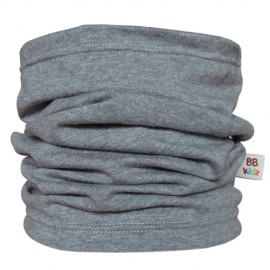 Grey Tube Scarf for babies - Baby Babas