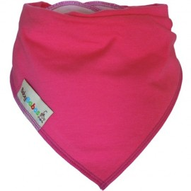 Raspberry Pink Dribble Bib XL