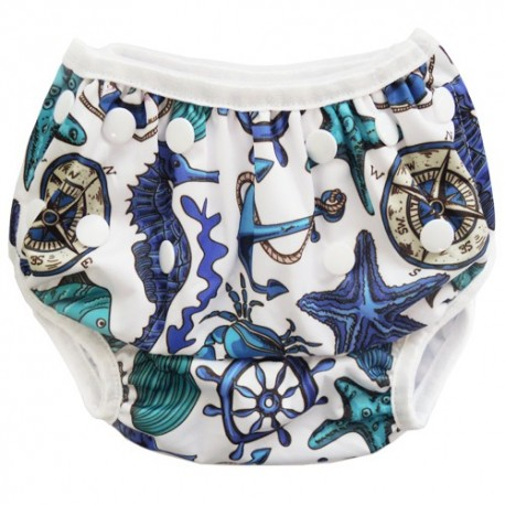 Swim Nappy Blue Sailor