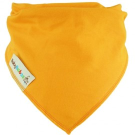 Orange Dribble Bib XL - Baby Babas