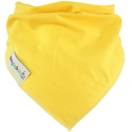 Yellow Dribble Bib XL - Baby Babas