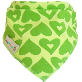 Green Hearts Dribble Bib XL