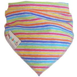 Quitababas Gris con Rayas Multicolores XL - Baby Babas