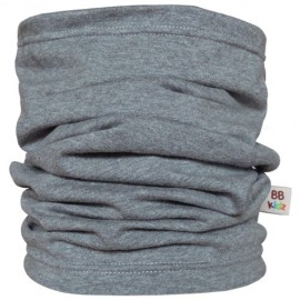 Grey Tube Scarf for kids - Baby Babas