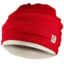 Burgundy & Cream Hat - Kids 2-8 years - Baby Babas