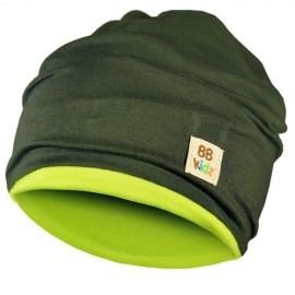 Khaki & Lime Green Hat - Baby 6-24 months - Baby Babas