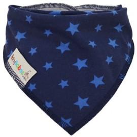 Azul Marino con Estrellas