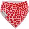 Red Giraffe - bandana dribble bib - Baby Babas