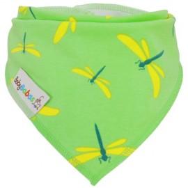 Dragonflies - bandana dribble bib - Baby Babas