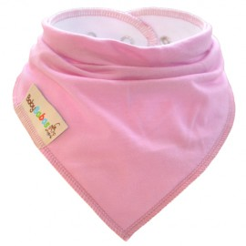 Pink Summer Dribble Bib