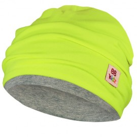 Lime Green & Grey Hat - Baby 6-24 months - Baby Babas