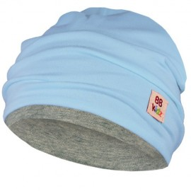 Light Blue & Grey Hat - Baby