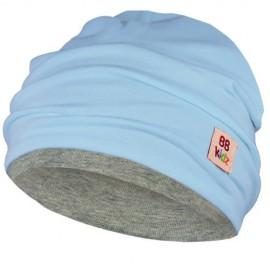 Light Blue & Grey Hat - Baby