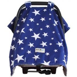 Goo Goo Cover Navy Star - Capota para silla de coche - Baby Babas