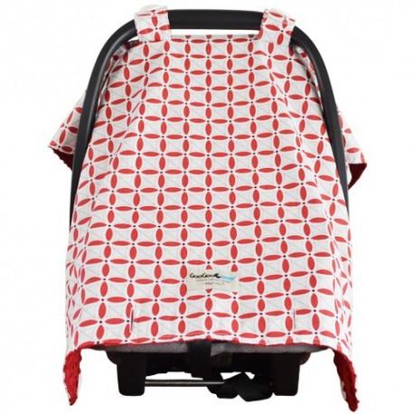 Goo Goo Cover Cherie Red - Capota para silla de coche - Baby Babas