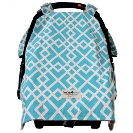 Goo Goo Cover Car Seat Canopy - Aquamarine