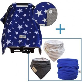 OUT & ABOUT NAVY STAR SET