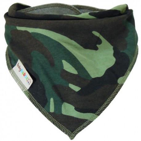 Camouflage - bandana dribble bib - Baby Babas